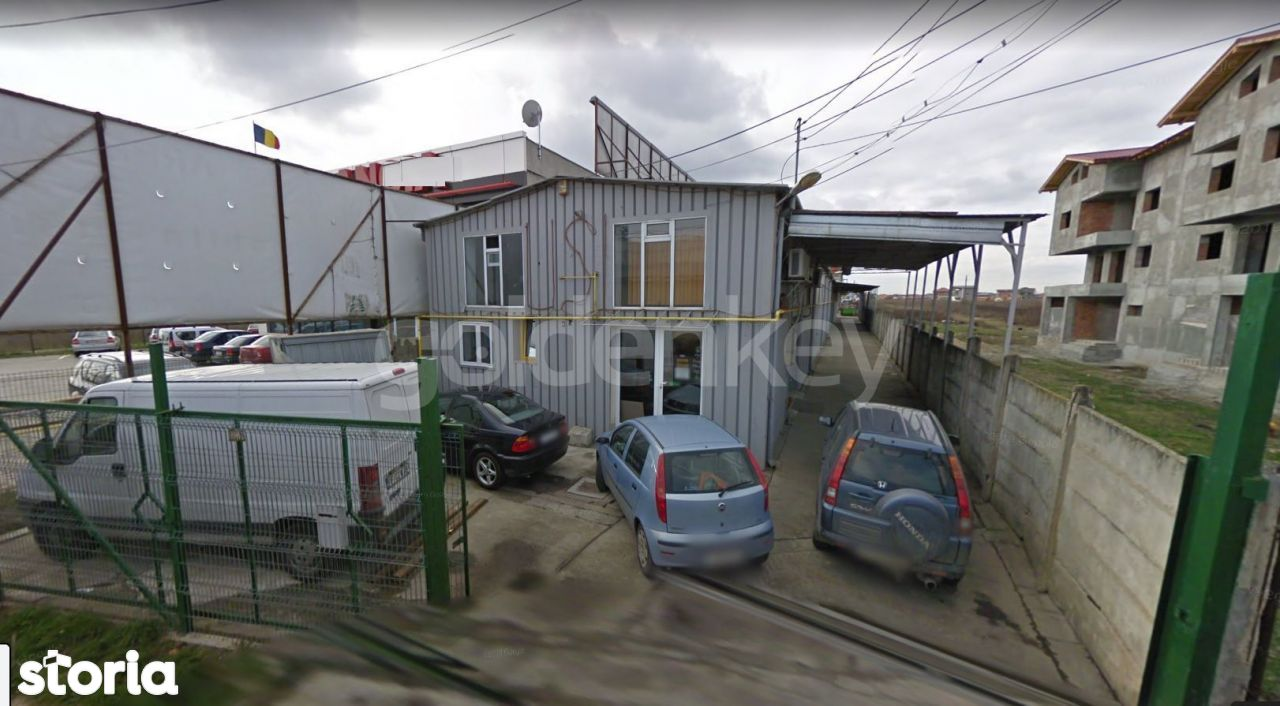 Stradal DN1 | Hale 760mp + Birouri/Vila 1140mp | 2105mp teren