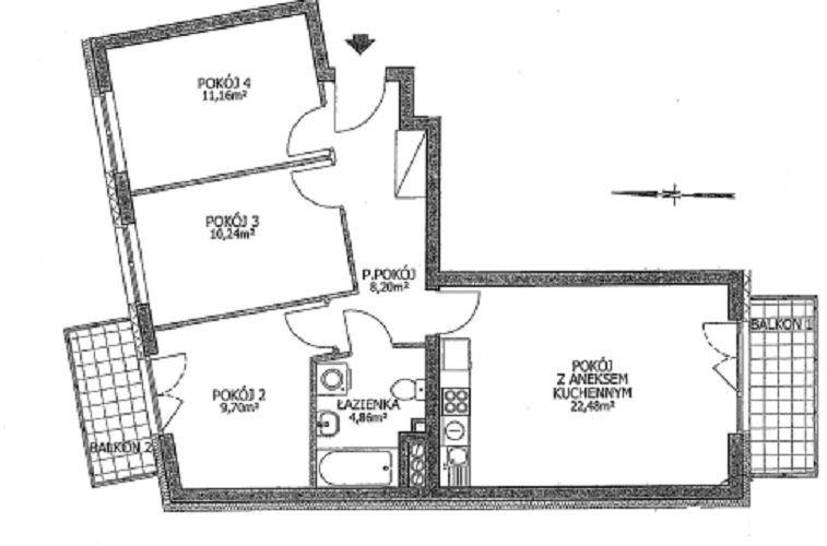 Lipa Piotrowska ul.Waniliowa 4 Pokoje 66,5m2 Garaż