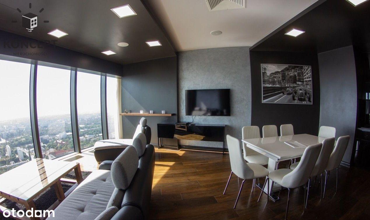Apartament na 40 piętrze w Sky Tower