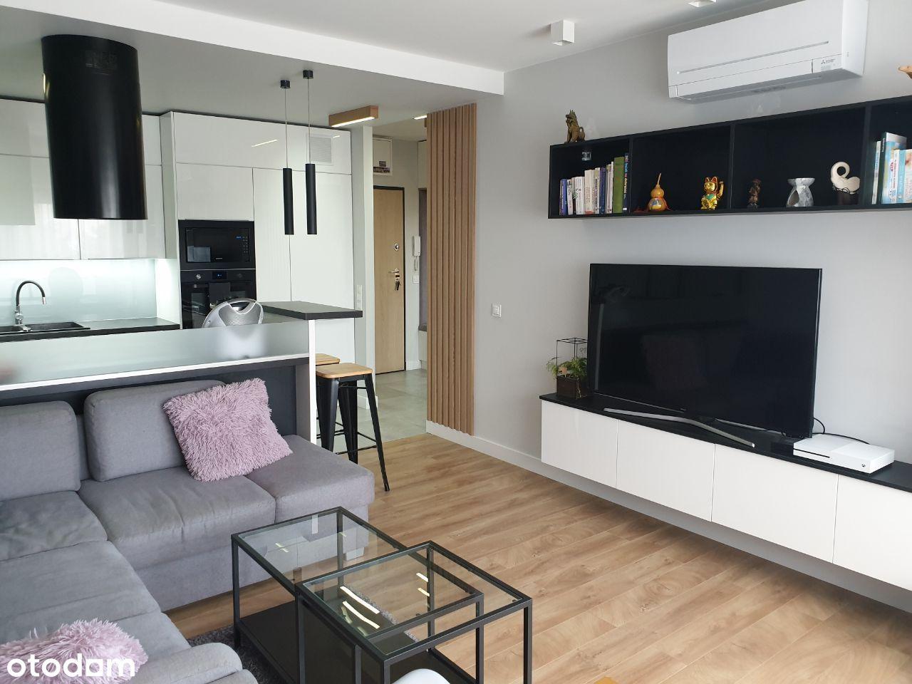 3 pokoje, umeblowane, 63m2, Grunwald, garaż, klima