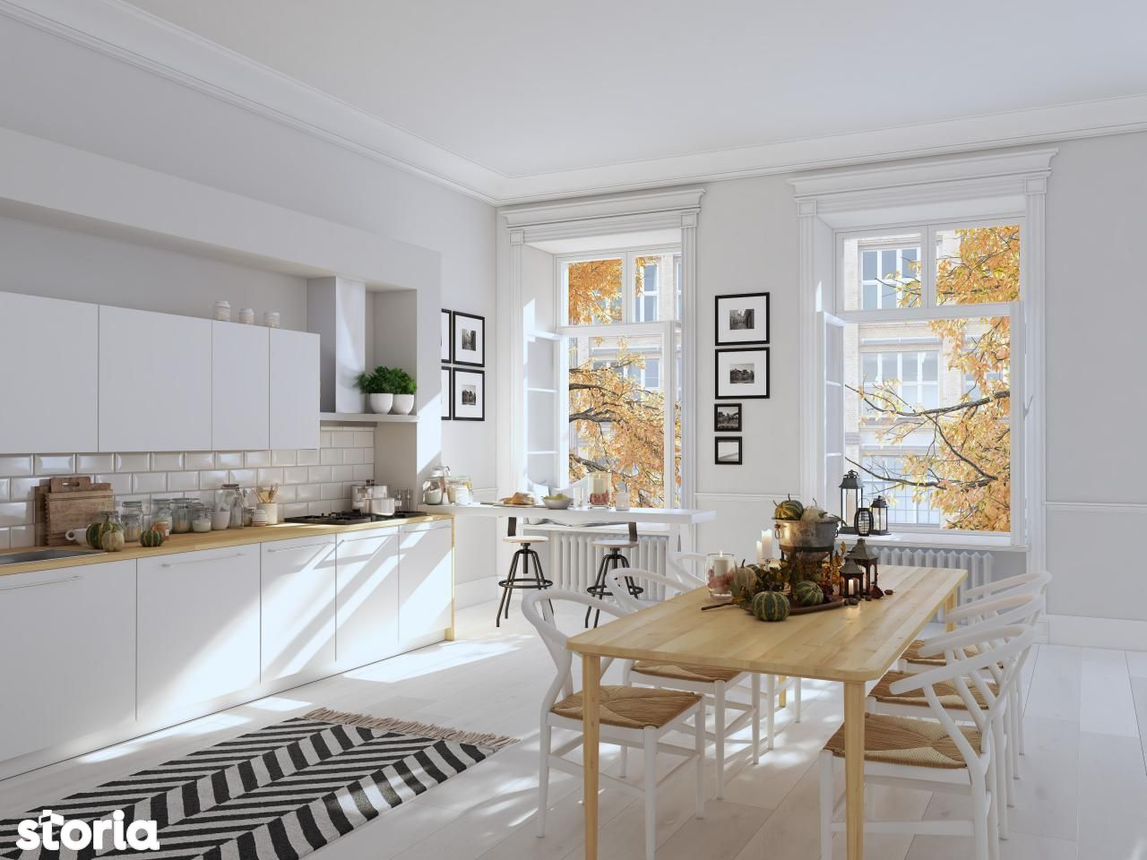 Apartament cu 3 camere, 2 bai si terasa, 107 mp Brasov