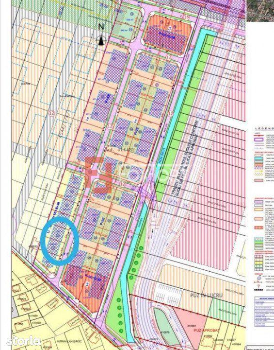 Parcela teren de vanzare in Giroc 540m2 - ID V486