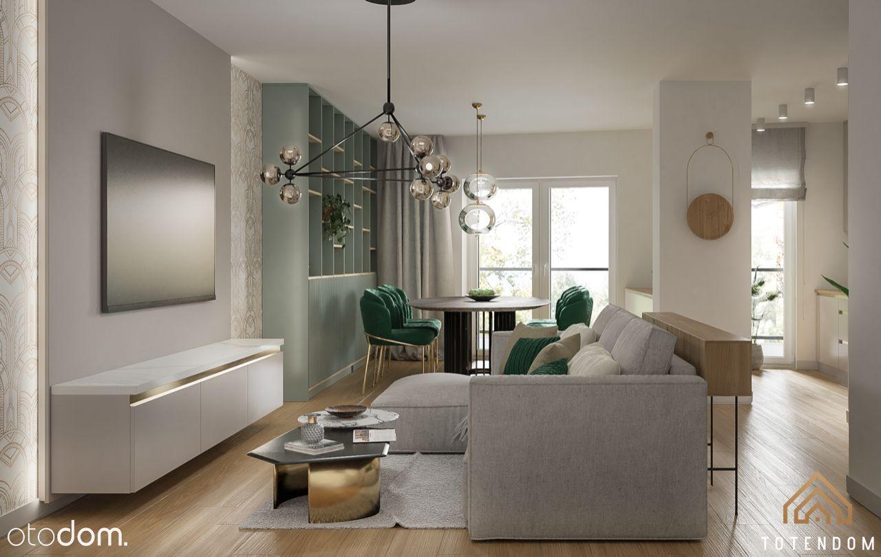 Przestronny apartament z dużym 70 metrowym tarasem