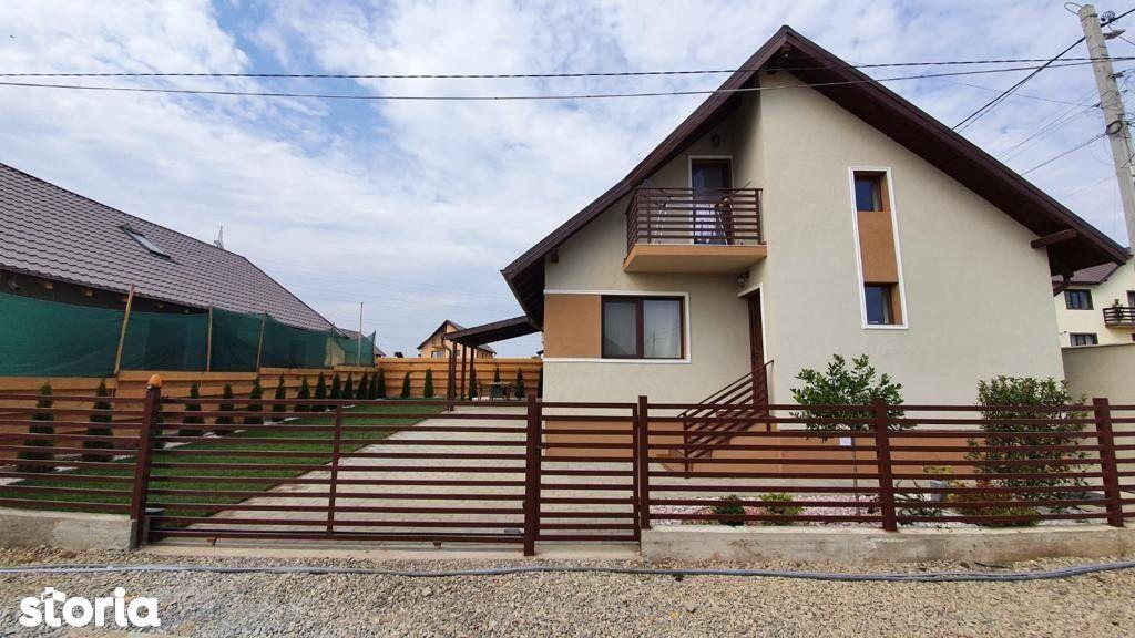 Casa individuala 3 camere 355mp teren Lunca Cetatuii