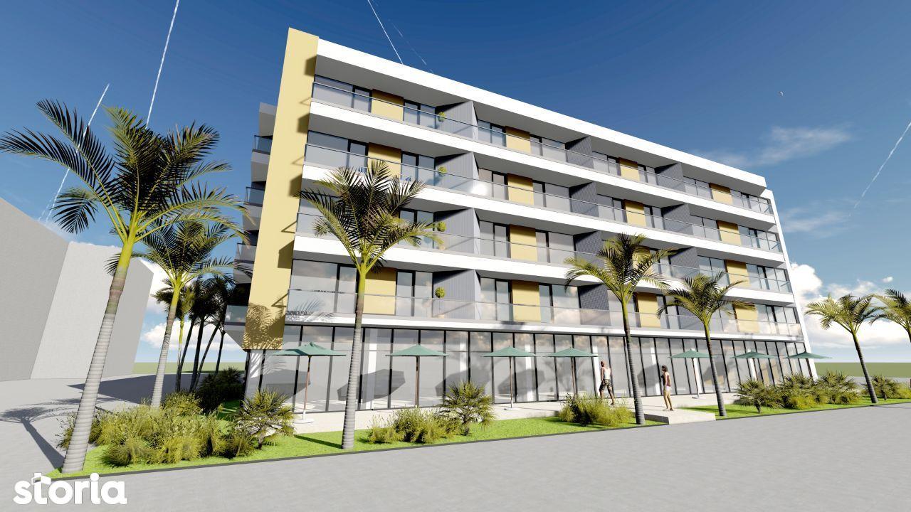 Promenada Mamaia Nord, apartament 2 camere, 66mp, frontal mare