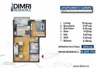 Dr. Taberei   2 Camere   Piscina   Sector 6   Direct Dezvoltator  