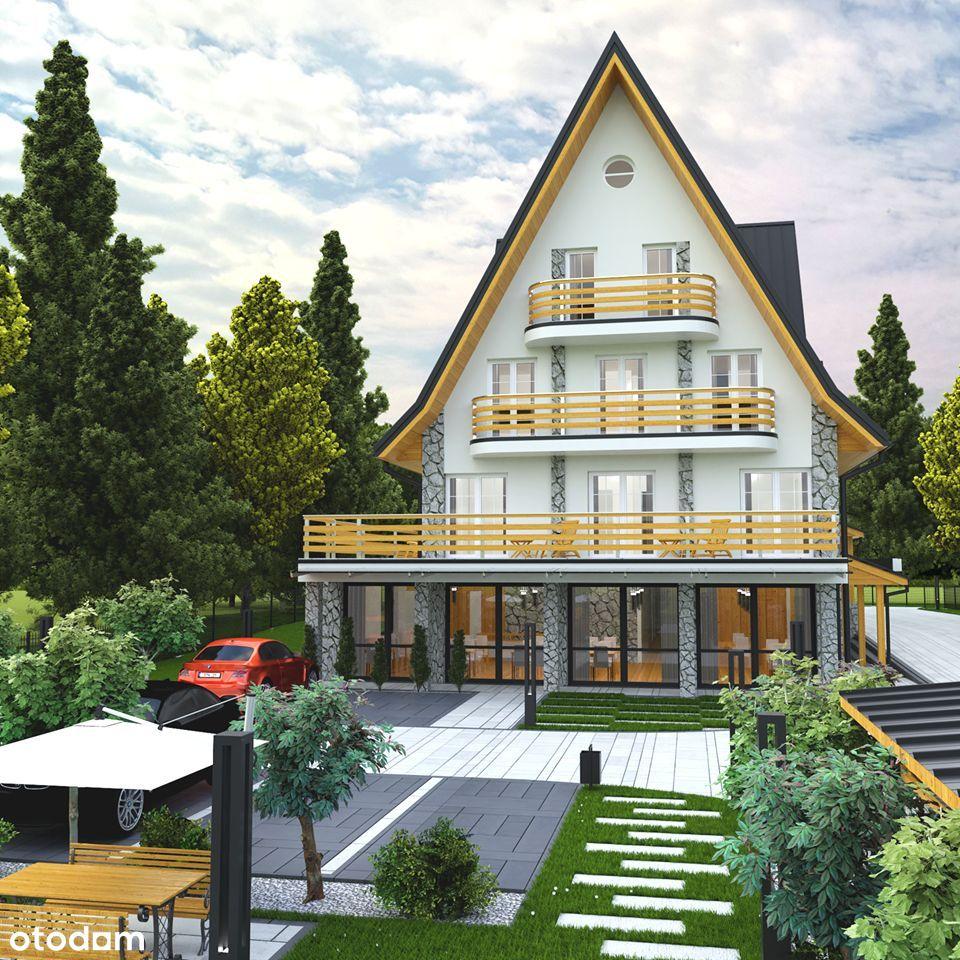 Hotel w Centrum Zakopanego z pozwoleniem na budowę