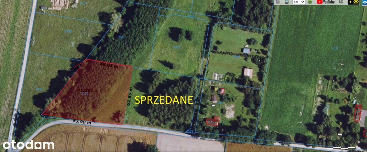 Działka rolno - budowlana, Gawartowa Wola, 4250m2