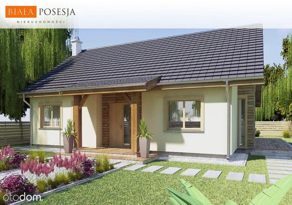 Dom, 98,90 m², Małe Rudy