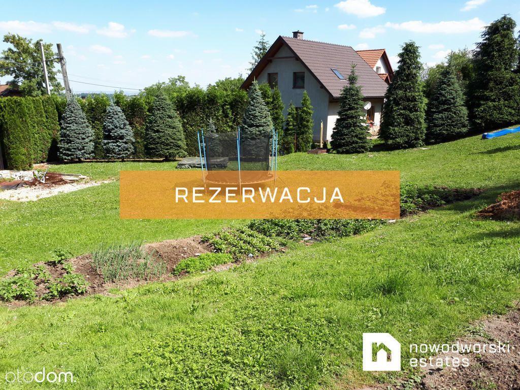 Działka w Wieliczce z pozwoleniem na budowę domu