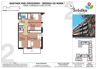 Mieszkanie A2.M17 Poznań Śródka OdNowa 2