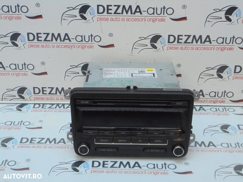 Radio cd , Vw Passat (362) - 1