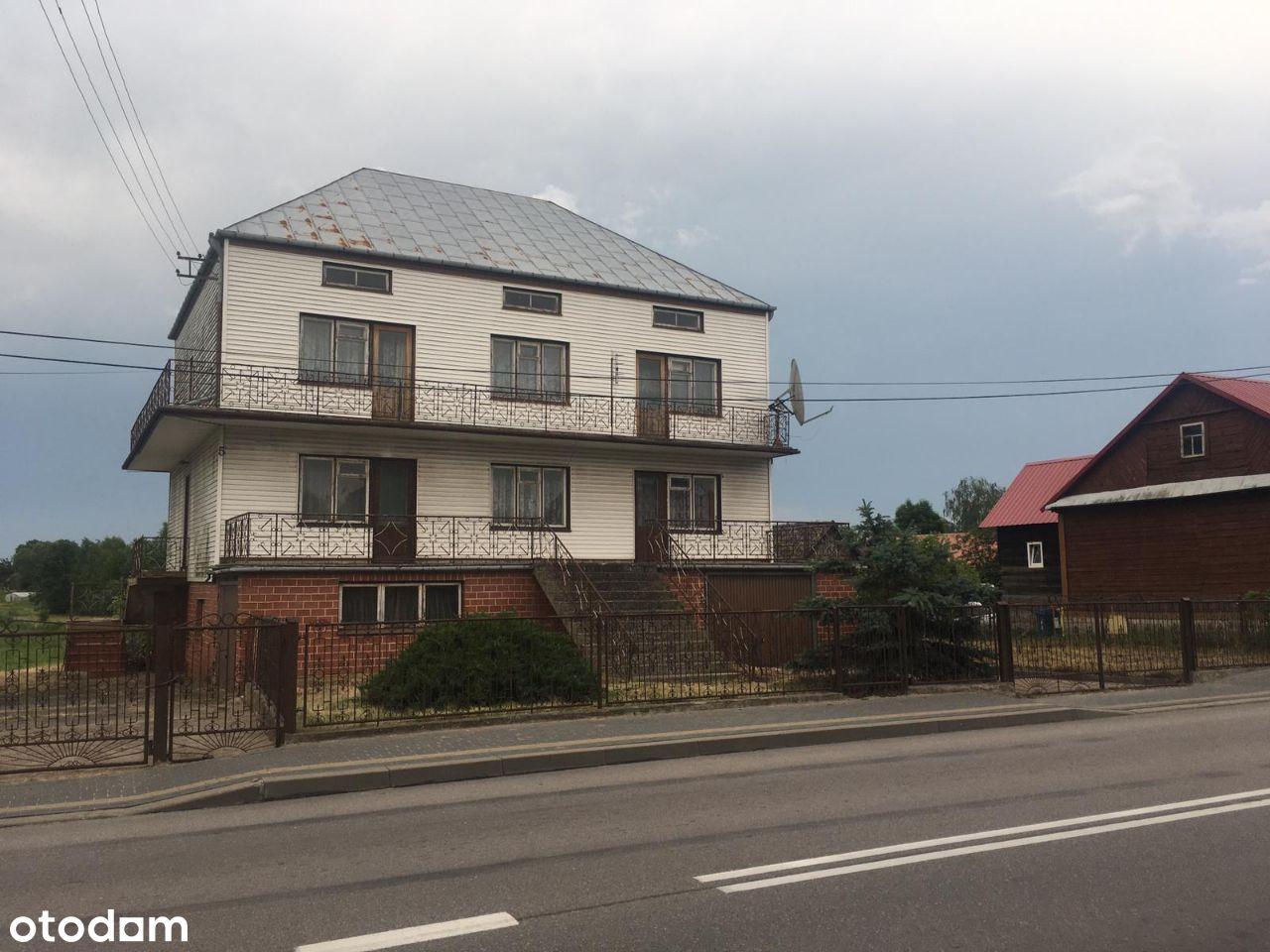 Dom 300m działka 5400m DK19 mieszkalne+Inwestycja