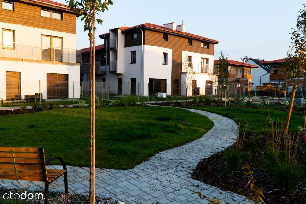 Ogródek 152 m2, widok na zieleń