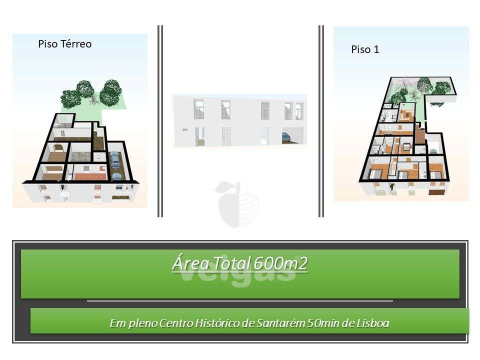 Moradia para comprar, Santarém (Marvila), Santa Iria da Ribeira de Santarém, Santarém (São Salvador) e Santarém (São Nicolau), Santarém - Foto 2