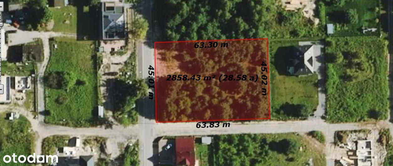 Sprzedam! Działka budowlana 2872 m2 Stara Wieś