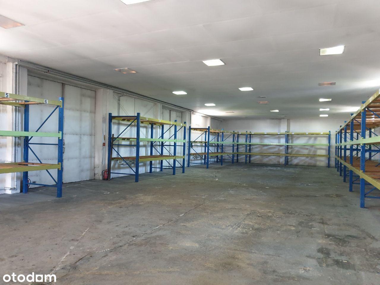 Hala produkcyjno-magazynowa 1350 m2 na sprzedaż