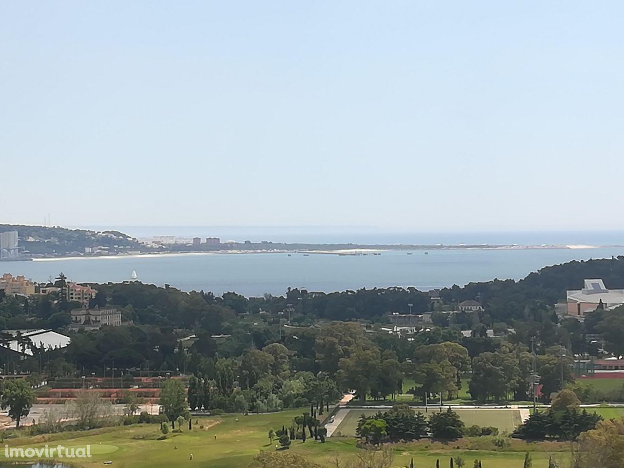 T3 como novo deslumbrante vista rio mar condomínio fechado Magnífico