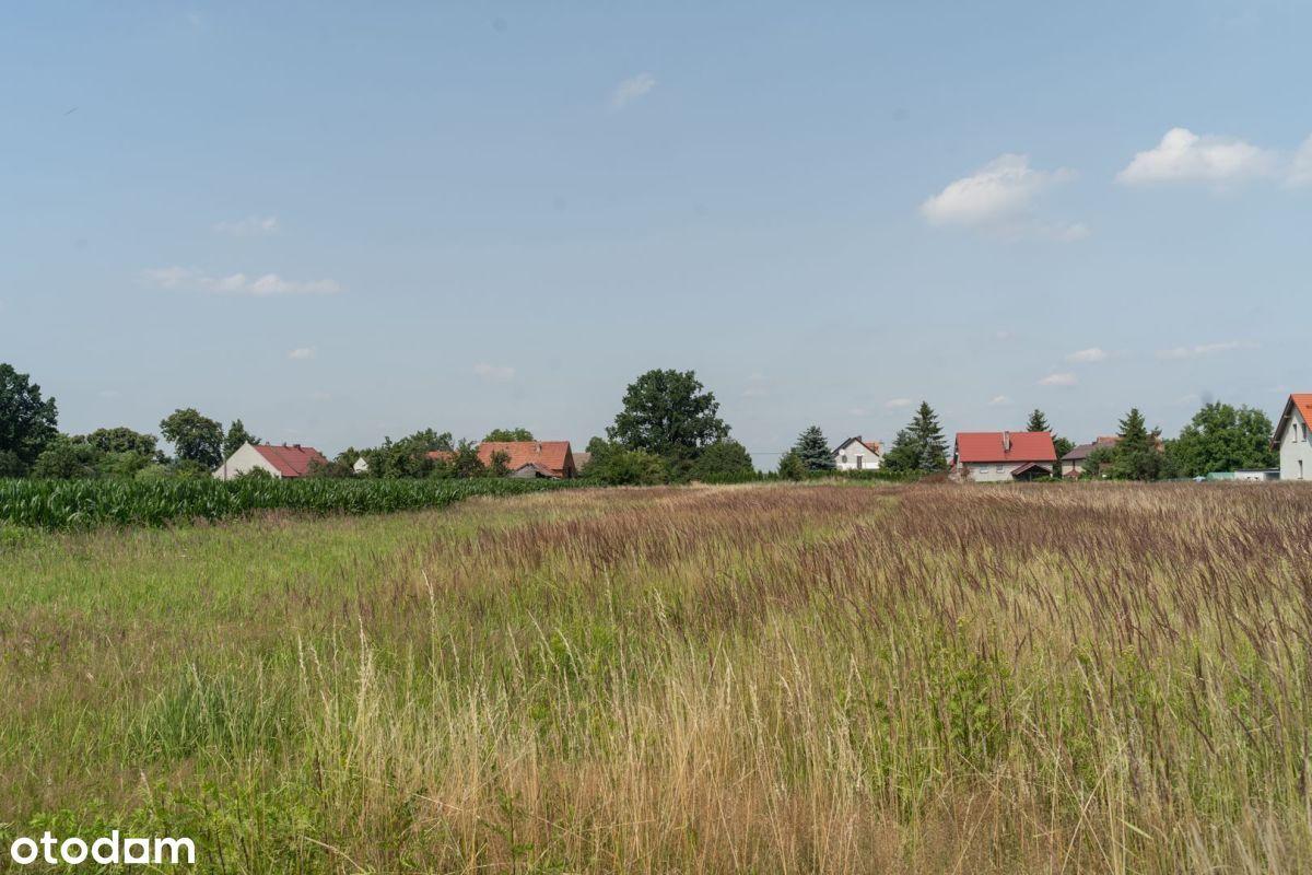 Działka budowlana 3860 m2 Wojnowice