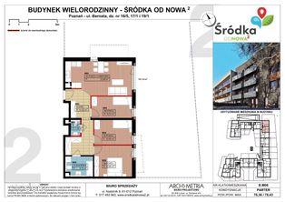 Mieszkanie B.M06 Poznań Śródka OdNowa 2