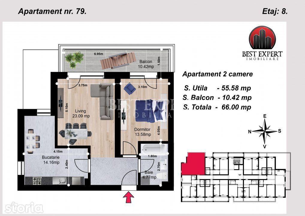 PROMO Apartament 2 camere decomandate Avans minim 15% Auchan Titan