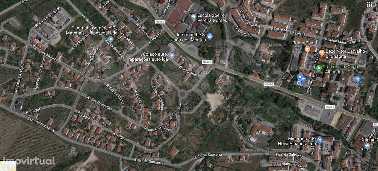 Terreno para construção em Alhandra