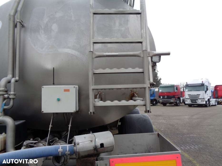 Trailor Milk/Water tank 2 COMP + 2 AXLE + ADR+25000liter - 13