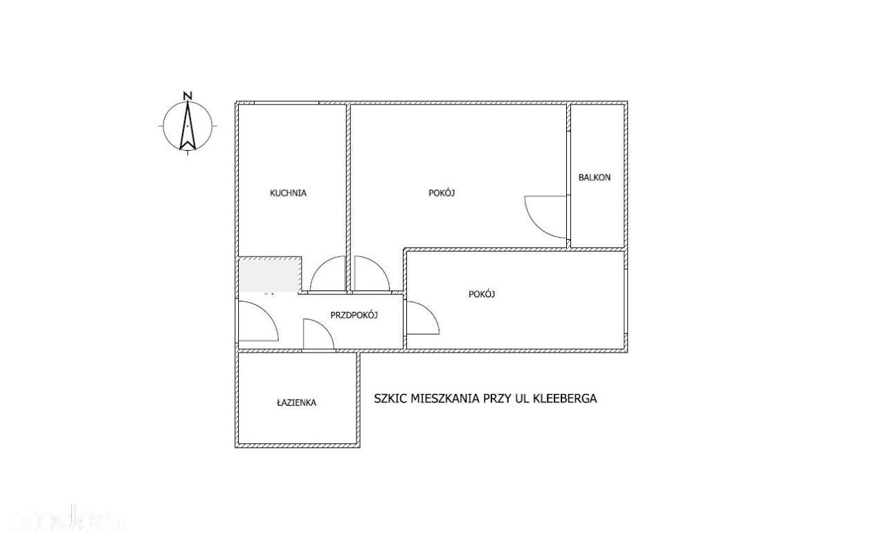 Mieszkanie 2-pokojowe ul. Kleeberga