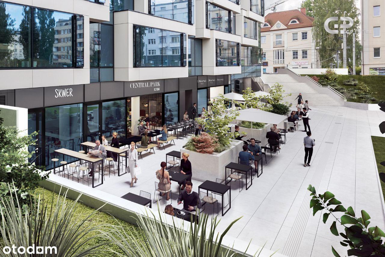 Gdyński RestoClub Park: lokal 160m² + OGRÓDEK 82m²