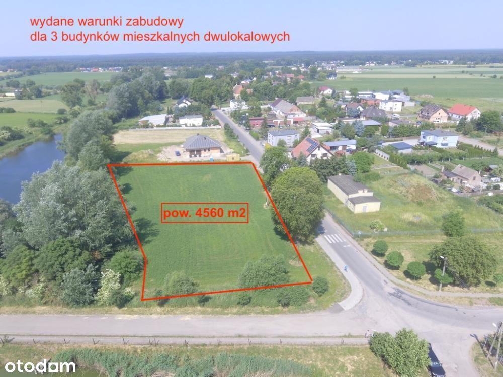 Działka, 4 560 m², Oborniki