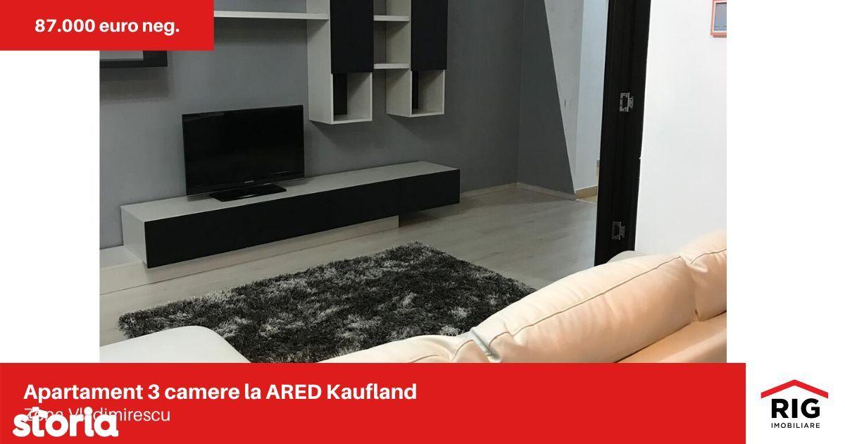 Apartament 3 camere de vanzare la ARED / Kaufland