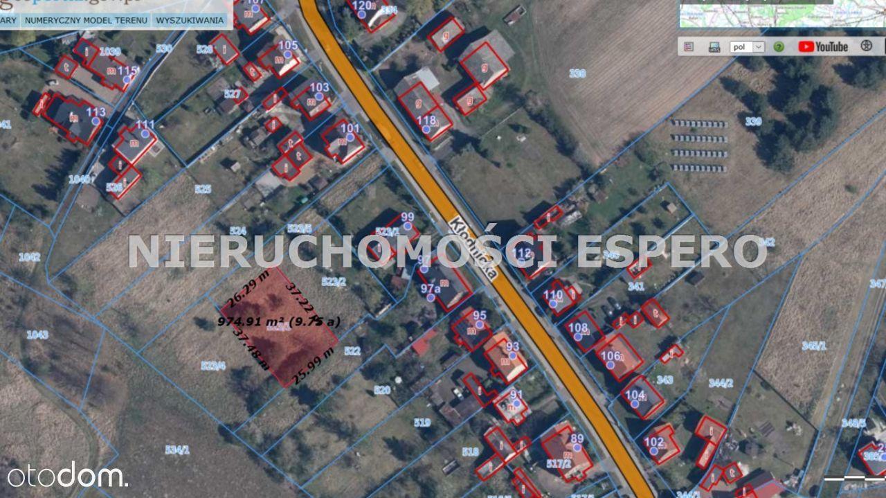 Działka, 971 m², Kędzierzyn-Koźle