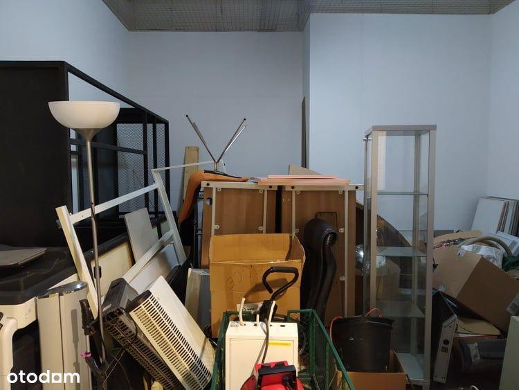 Magazyn 17 m2 - ciepły i bezpieczny.