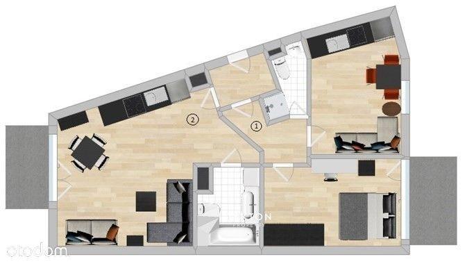 Multi-apartament na Wyspie Spichrzów