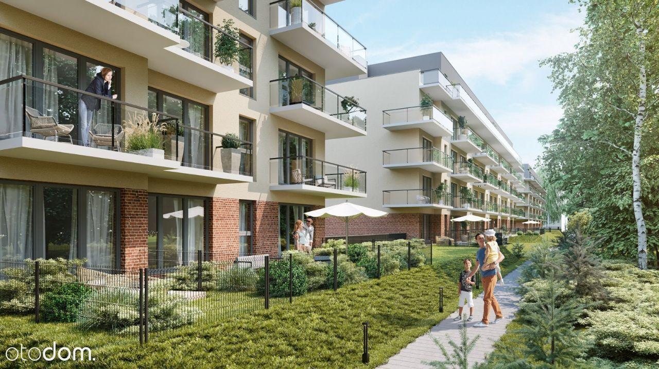 Mieszkanie 4 pokojowe z balkonem, przy Malcie