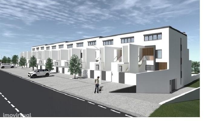 Projeto aprovado para 24 andares-moradias T3