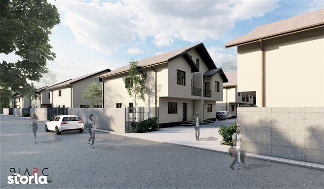 Duplex 130 mp utili,teren 230,ansamblu privat,str Safirului,proprietar