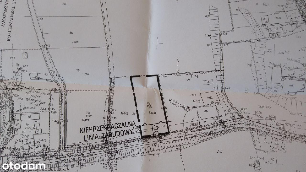 Działka Pawłówek z warunkami zabudowy