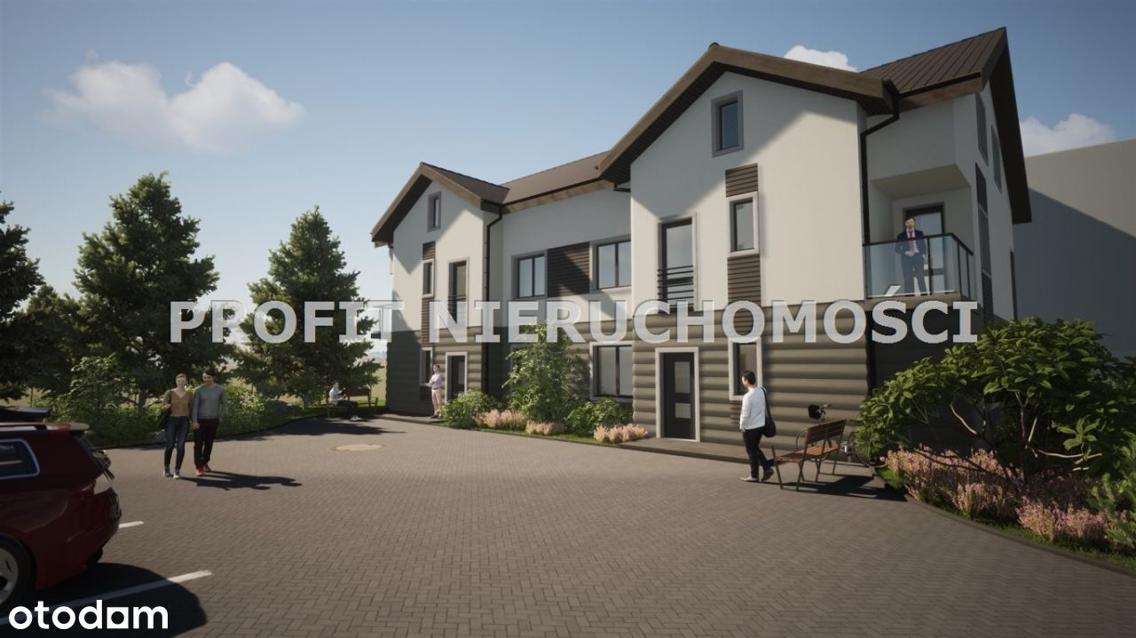 Komfortowe mieszkanie II-poziomowe z ogródkiem