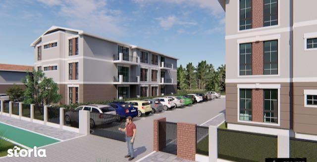 Teren comuna Giroc cu AC si Proiect pentru 12 apartamente