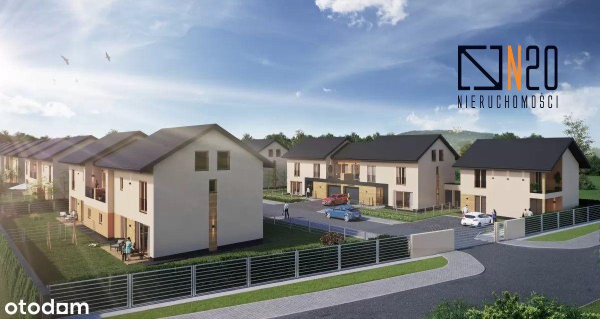 Skotniki - nowe domy w zabudowie bliźniaczej