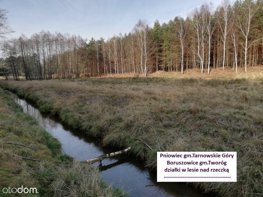 Tania działka 6892m2 las rzeczka tylko 49.000 zł