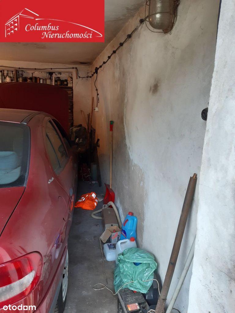 Garaż murowany- grunt własnościowy