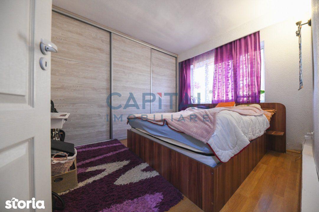 Vanzare apartament 2 camere decomandat, etaj 5/10, zona P-ta Flora, Ma
