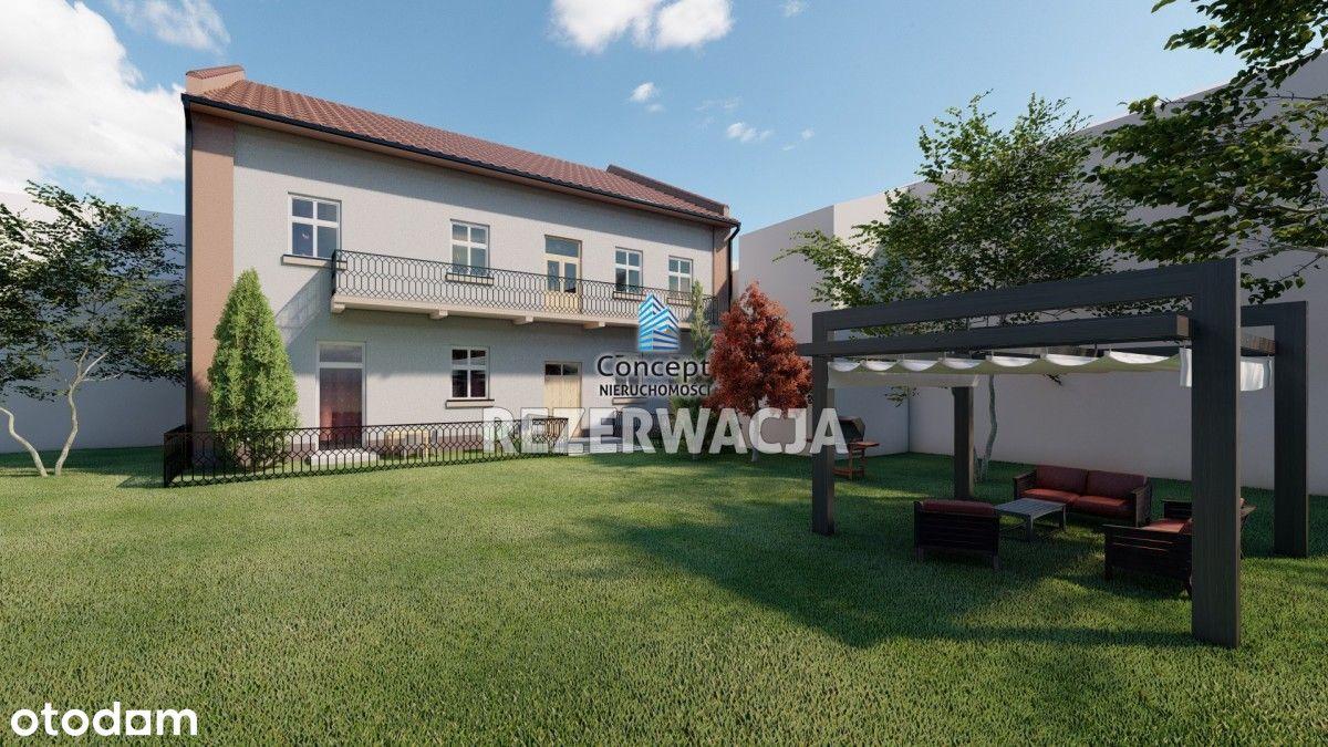 Mieszkanie z ogródkiem w centrum Bochni