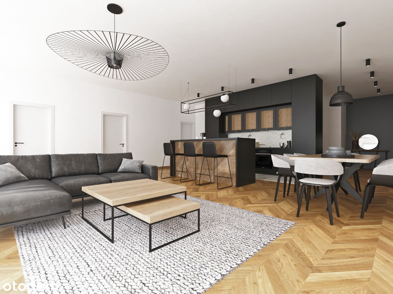 Apartament 4-pokojowy 118,32 m2 z balkonem