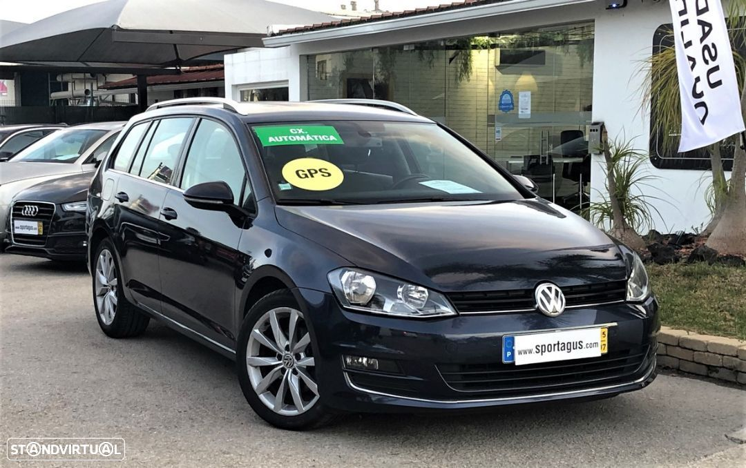 VW Golf Variant 1.6 TDi Highline DSG - 32