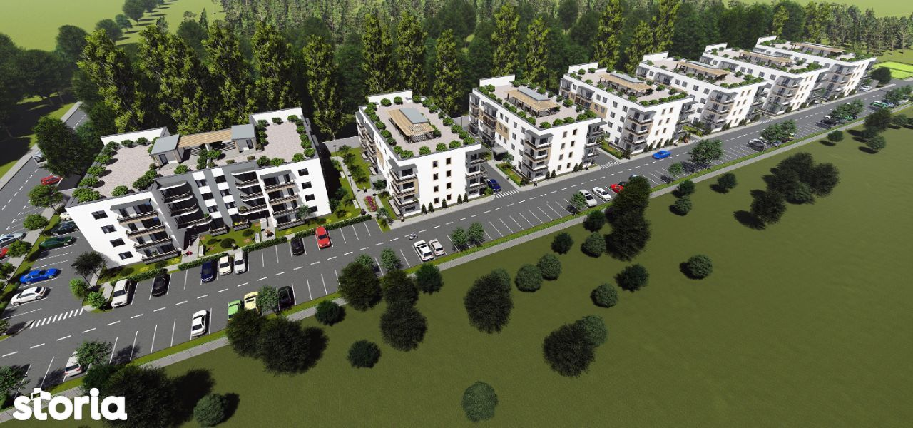 Mountain View Residence, apartament 3 camere.