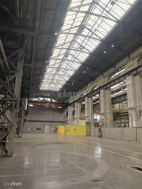 Hala produkcyjna 1600m2, Fabryczna