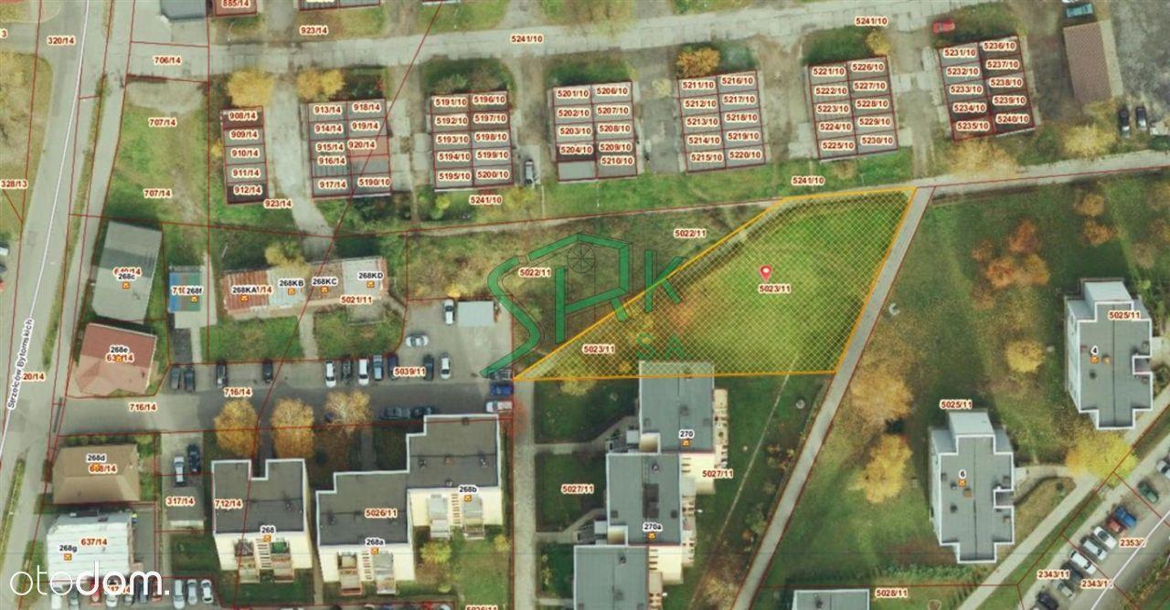 Działka, 1 075 m², Bytom